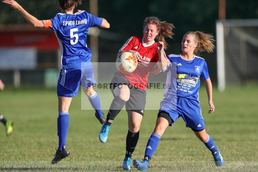 Rebecca Müller, Anna Schneiderbanger, Anke Skrabs, 20.09.2020, Landesliga Nord Frauen, SpVgg Germania Ebing, FC Karsbach - Bild-ID: 2279758