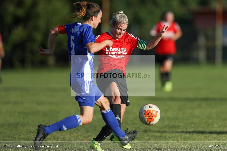 Anna Schneiderbanger, Marie Theres Franz, 20.09.2020, Landesliga Nord Frauen, SpVgg Germania Ebing, FC Karsbach - Bild-ID: 2279763