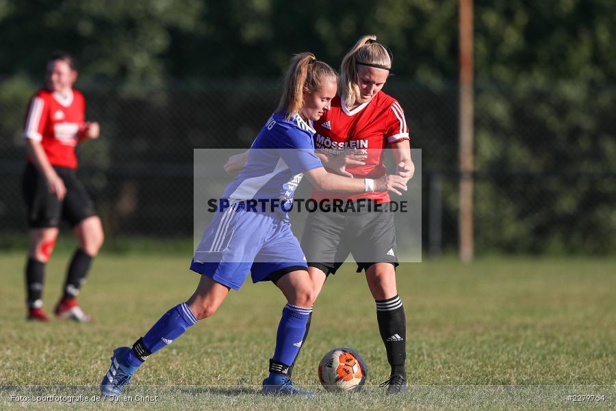 Rebecca Müller, Lisa Blum, 20.09.2020, Landesliga Nord Frauen, SpVgg Germania Ebing, FC Karsbach - Bild-ID: 2279764
