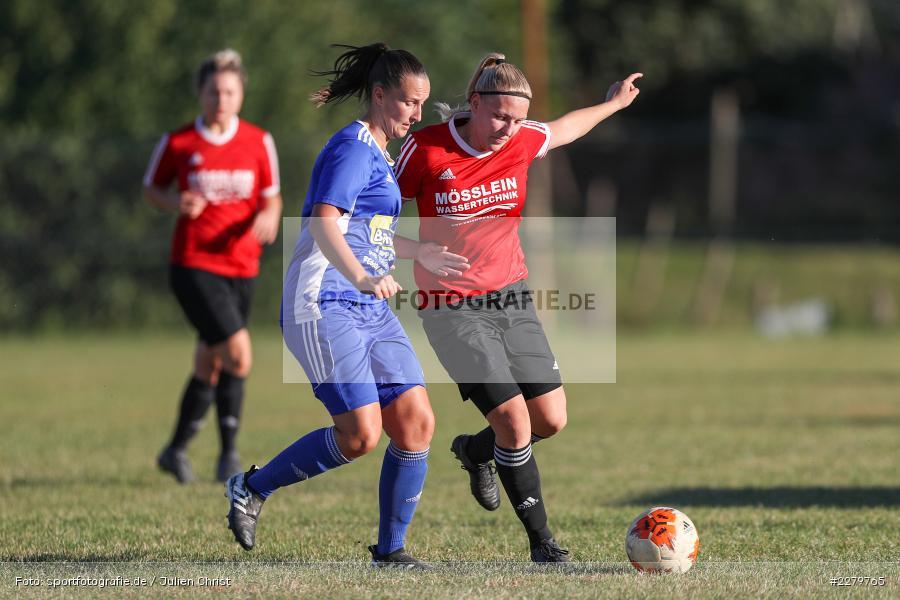 Lisa Blum, Jana Stadter, 20.09.2020, Landesliga Nord Frauen, SpVgg Germania Ebing, FC Karsbach - Bild-ID: 2279765