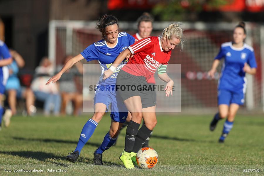 Anna Schneiderbanger, Marie Theres Franz, 20.09.2020, Landesliga Nord Frauen, SpVgg Germania Ebing, FC Karsbach - Bild-ID: 2279768