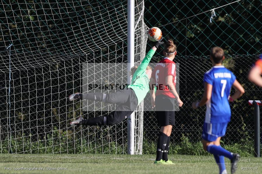 Melissa Mennig, 20.09.2020, Landesliga Nord Frauen, SpVgg Germania Ebing, FC Karsbach - Bild-ID: 2279769