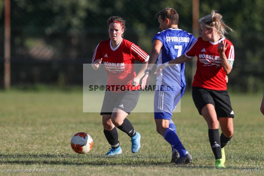 Lisa Sommer, Anke Skrabs, 20.09.2020, Landesliga Nord Frauen, SpVgg Germania Ebing, FC Karsbach - Bild-ID: 2279785