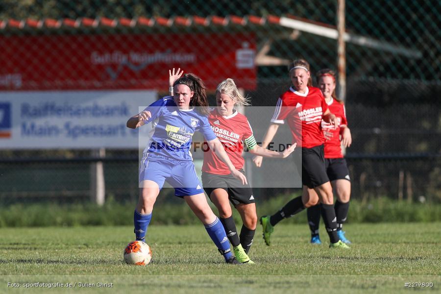 Marie Theres Franz, Nina Höfer, 20.09.2020, Landesliga Nord Frauen, SpVgg Germania Ebing, FC Karsbach - Bild-ID: 2279800