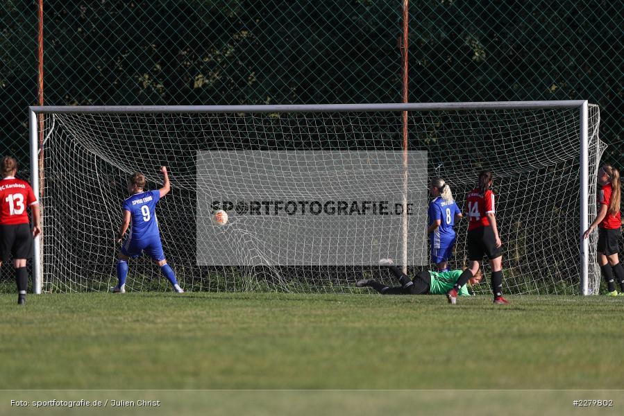 Lisa Sommer, 20.09.2020, Landesliga Nord Frauen, SpVgg Germania Ebing, FC Karsbach - Bild-ID: 2279802