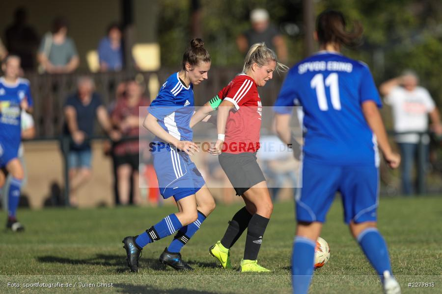 Alessa Herbst, Marie Theres Franz, 20.09.2020, Landesliga Nord Frauen, SpVgg Germania Ebing, FC Karsbach - Bild-ID: 2279813