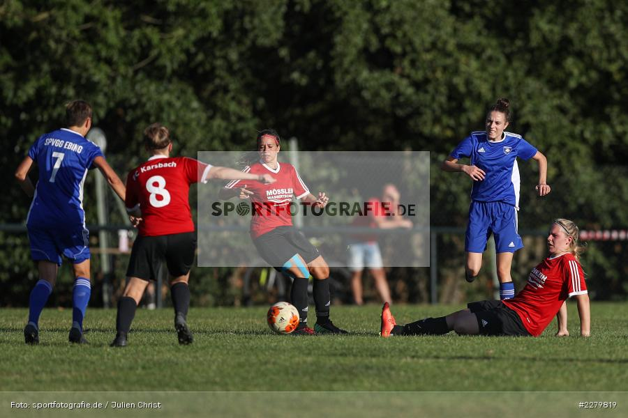 Annika Rehm, 20.09.2020, Landesliga Nord Frauen, SpVgg Germania Ebing, FC Karsbach - Bild-ID: 2279819