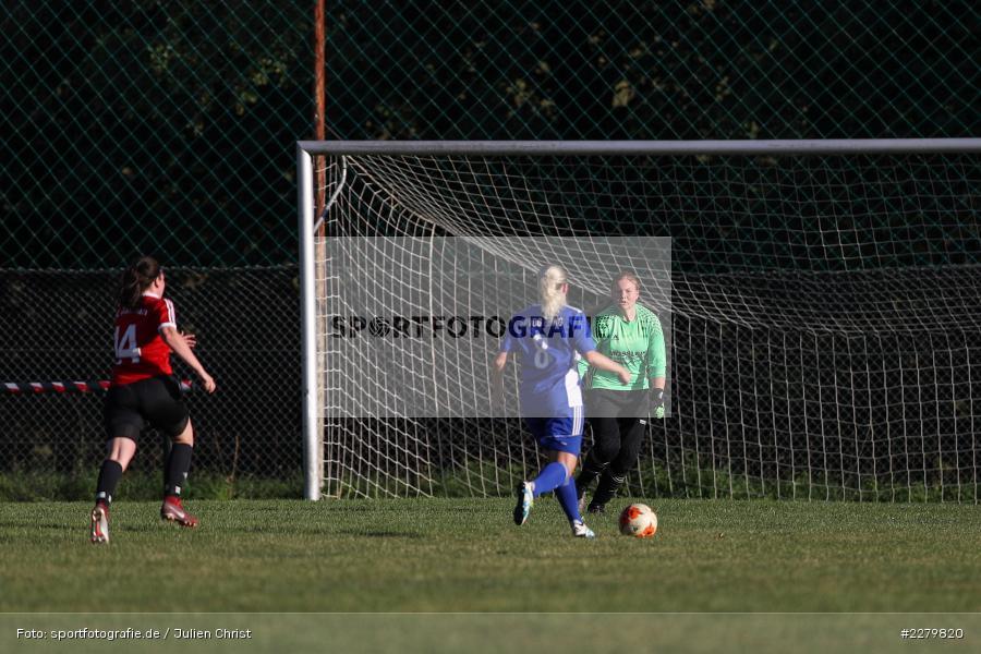 Melissa Mennig, Caroline Eberth, 20.09.2020, Landesliga Nord Frauen, SpVgg Germania Ebing, FC Karsbach - Bild-ID: 2279820