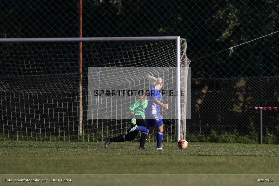 Melissa Mennig, Caroline Eberth, 20.09.2020, Landesliga Nord Frauen, SpVgg Germania Ebing, FC Karsbach - Bild-ID: 2279821