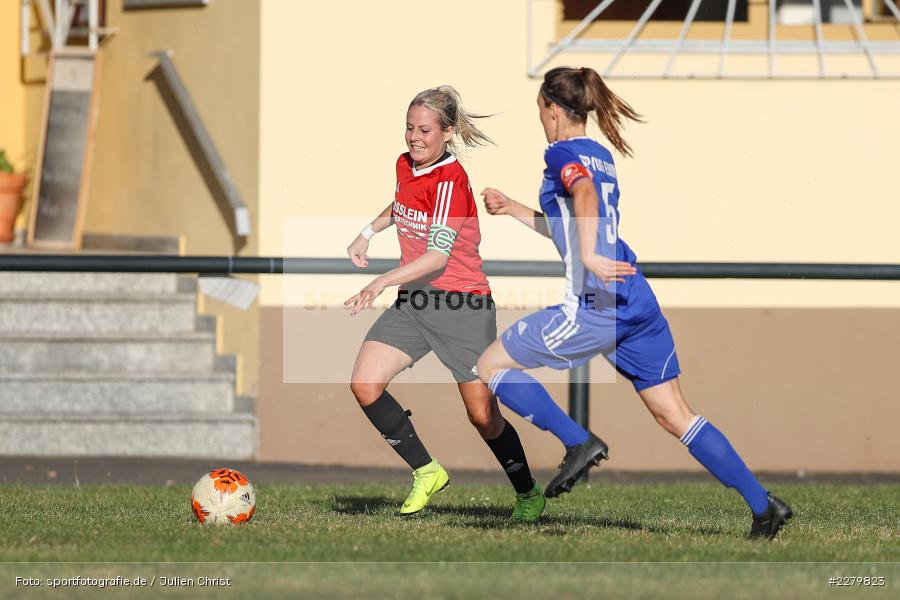 Anna Schneiderbanger, Marie Theres Franz, 20.09.2020, Landesliga Nord Frauen, SpVgg Germania Ebing, FC Karsbach - Bild-ID: 2279823