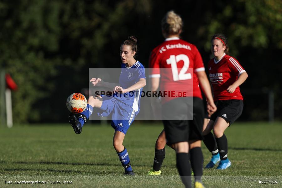 Alessa Herbst, 20.09.2020, Landesliga Nord Frauen, SpVgg Germania Ebing, FC Karsbach - Bild-ID: 2279826