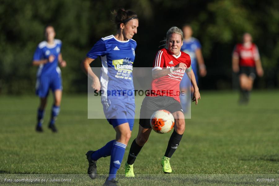 Anna Schneiderbanger, Marie Theres Franz, 20.09.2020, Landesliga Nord Frauen, SpVgg Germania Ebing, FC Karsbach - Bild-ID: 2279828