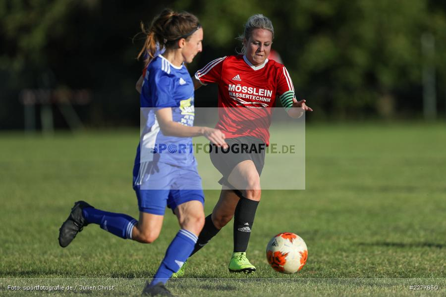 Anna Schneiderbanger, Marie Theres Franz, 20.09.2020, Landesliga Nord Frauen, SpVgg Germania Ebing, FC Karsbach - Bild-ID: 2279830