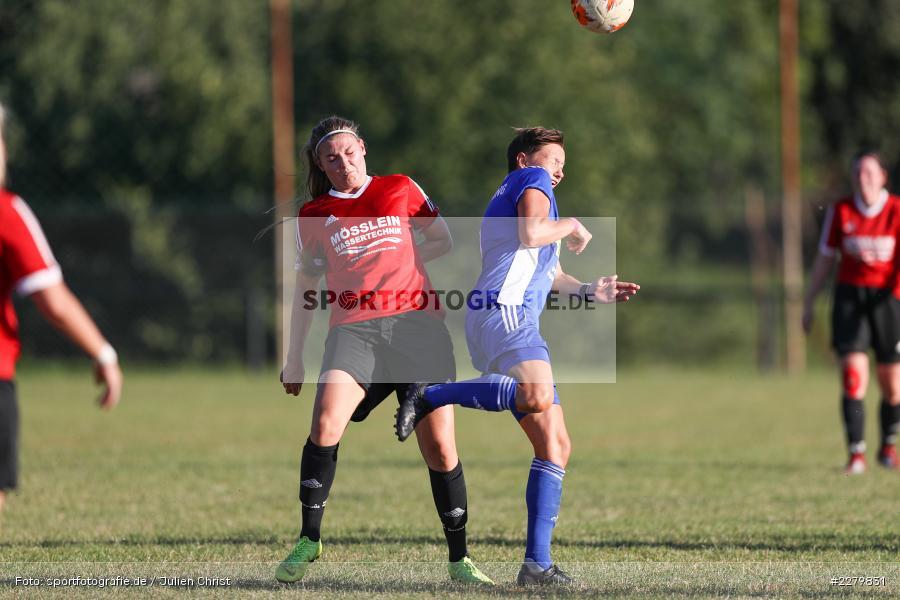 Lisa Sommer, Tamira Stegmann, 20.09.2020, Landesliga Nord Frauen, SpVgg Germania Ebing, FC Karsbach - Bild-ID: 2279831