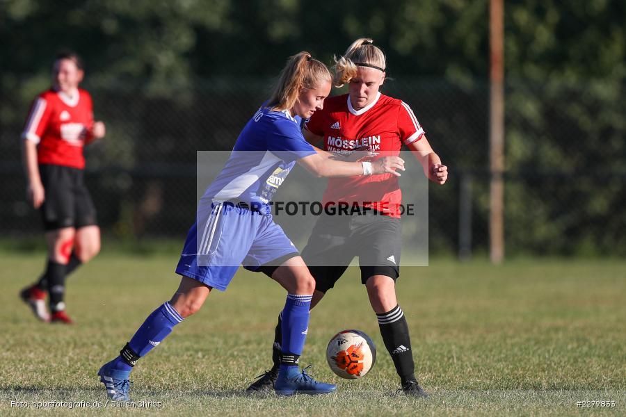 Lisa Blum, Rebecca Müller, 20.09.2020, Landesliga Nord Frauen, SpVgg Germania Ebing, FC Karsbach - Bild-ID: 2279833