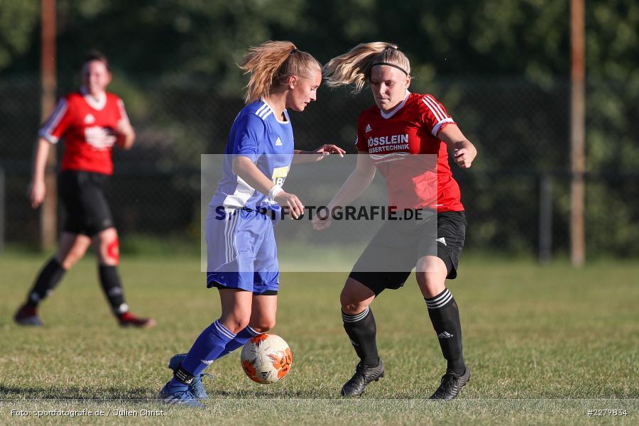 Lisa Blum, Rebecca Müller, 20.09.2020, Landesliga Nord Frauen, SpVgg Germania Ebing, FC Karsbach - Bild-ID: 2279834