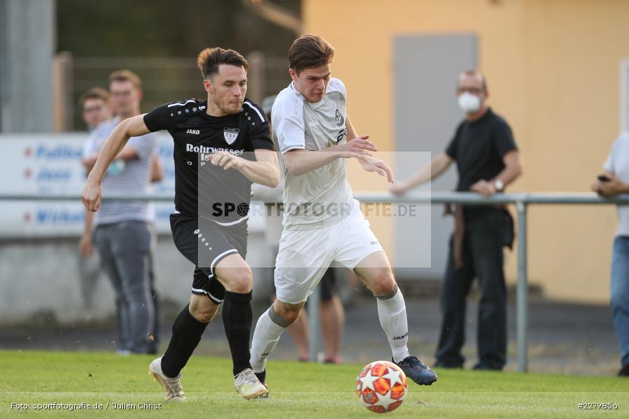 Nino Wagner, Pascal Dlugaj, Ligapokal, Landesliga Nord, 22.09.2020, TSV Unterpleichfeld, ASV Rimpar - Bild-ID: 2279856