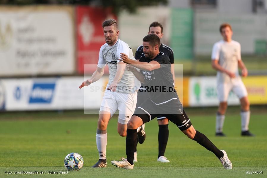 Christoph Hiesberger, Julian Göbel, Ligapokal, Landesliga Nord, 22.09.2020, TSV Unterpleichfeld, ASV Rimpar - Bild-ID: 2279861