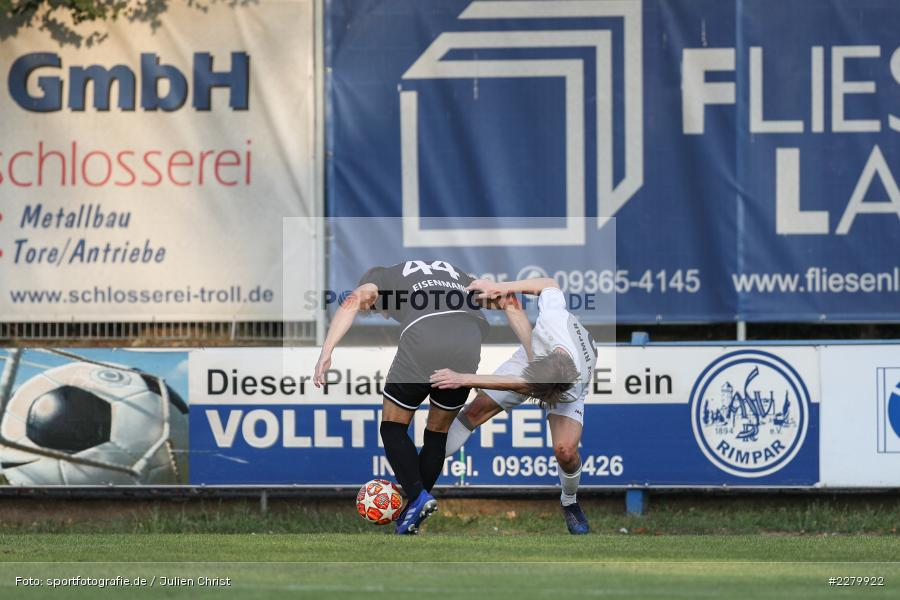 Ligapokal, Landesliga Nord, 22.09.2020, TSV Unterpleichfeld, ASV Rimpar - Bild-ID: 2279922