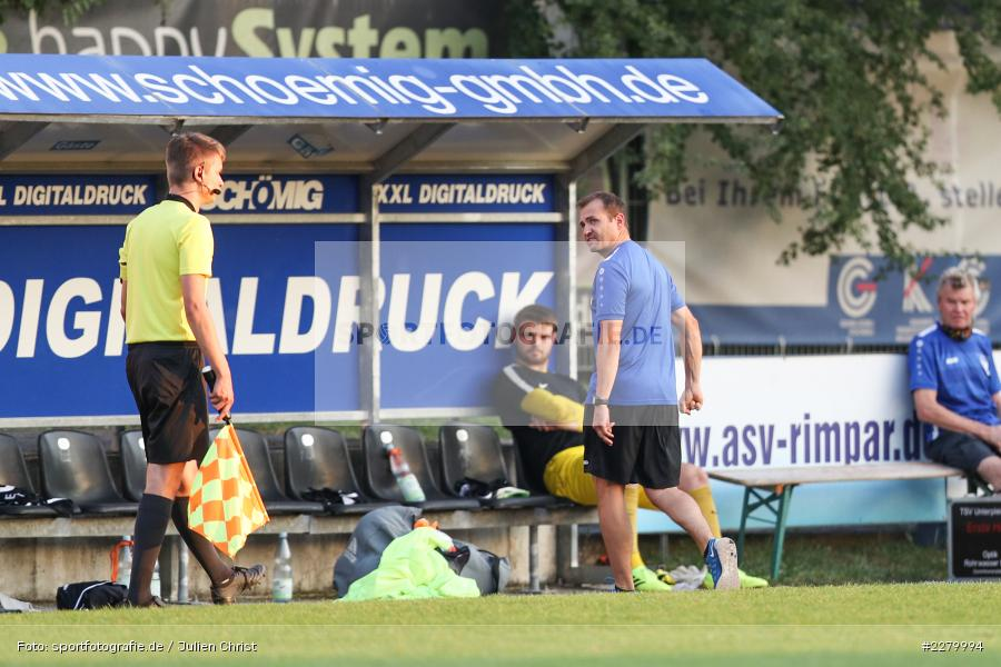 Ligapokal, Landesliga Nord, 22.09.2020, TSV Unterpleichfeld, ASV Rimpar - Bild-ID: 2279994