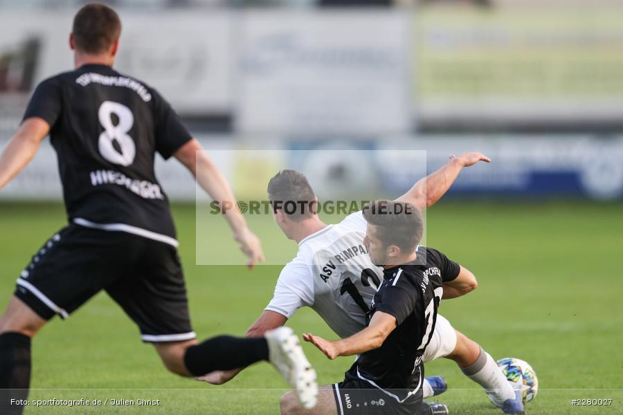 Ligapokal, Landesliga Nord, 22.09.2020, TSV Unterpleichfeld, ASV Rimpar - Bild-ID: 2280027