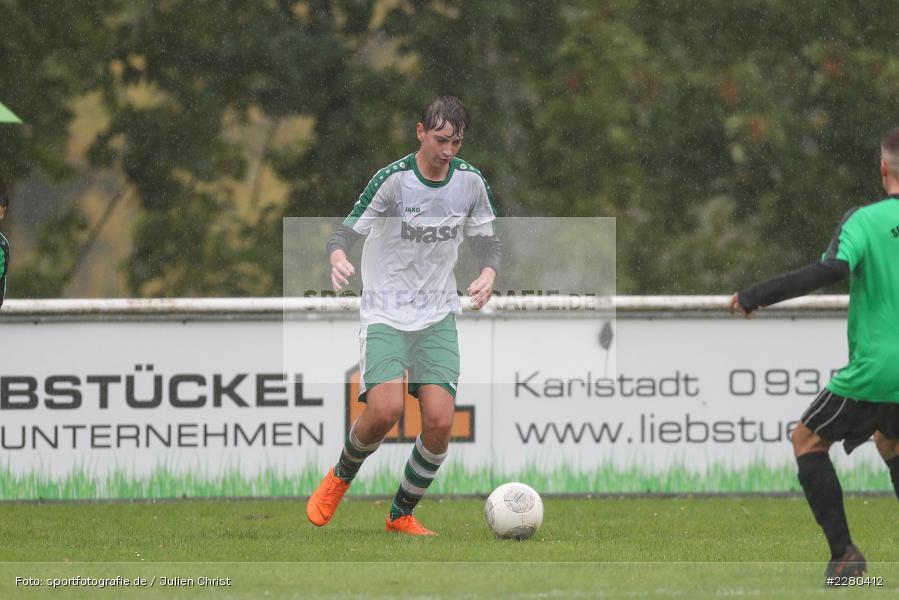 Jan-Niklas Galozi, Sportgelände, Karlstadt, 26.09.2020, sport, action, Fussball, September 2020, (SG) DJK-TuS Aschaffenburg-Leider, (SG) FV Karlstadt - Bild-ID: 2280412