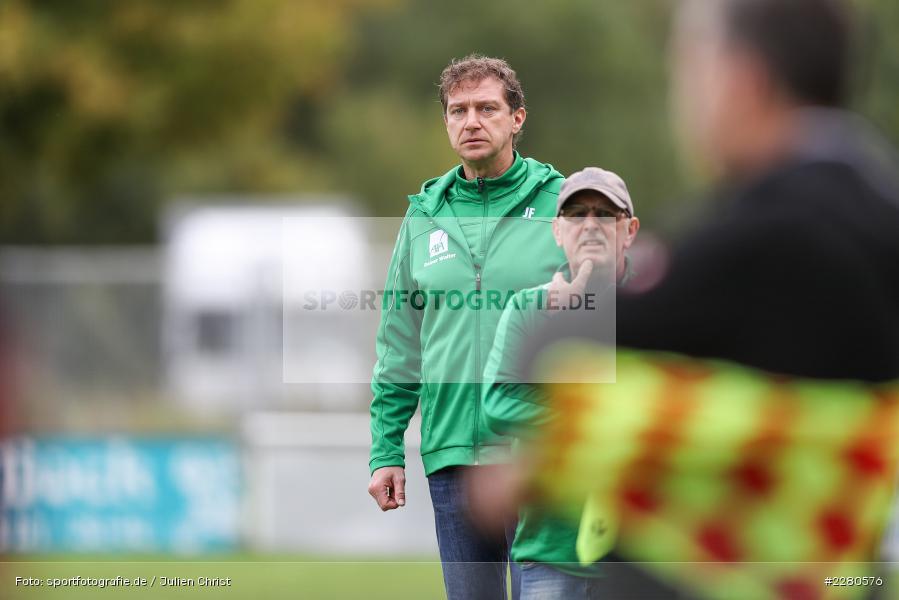 Trainer, Jens Fischer, Sportgelände, Karlstadt, 27.09.2020, sport, action, Fussball, September 2020, SV Altfeld, FV Karlstadt - Bild-ID: 2280576