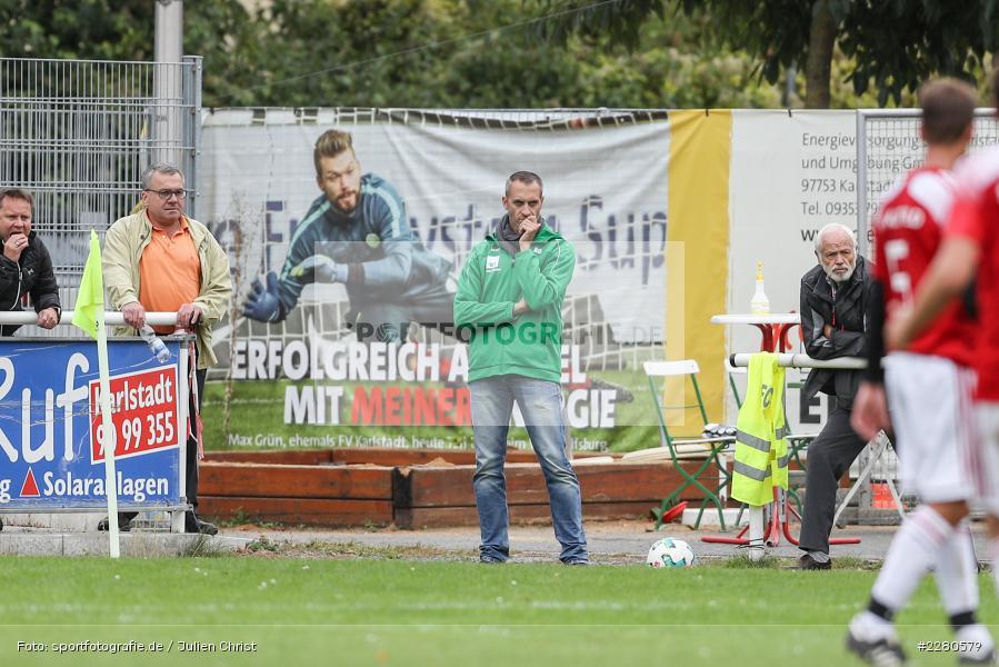 Vorstand, Ralf Dirscherl, Sportgelände, Karlstadt, 27.09.2020, sport, action, Fussball, September 2020, SV Altfeld, FV Karlstadt - Bild-ID: 2280579