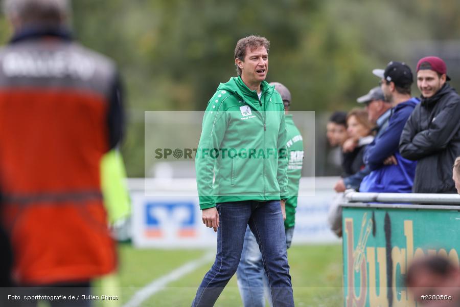 Trainer, Jens Fischer, Sportgelände, Karlstadt, 27.09.2020, sport, action, Fussball, September 2020, SV Altfeld, FV Karlstadt - Bild-ID: 2280586