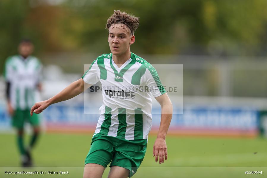 Marvin Zimmermann, Sportgelände, Karlstadt, 27.09.2020, sport, action, Fussball, September 2020, SV Altfeld, FV Karlstadt - Bild-ID: 2280594