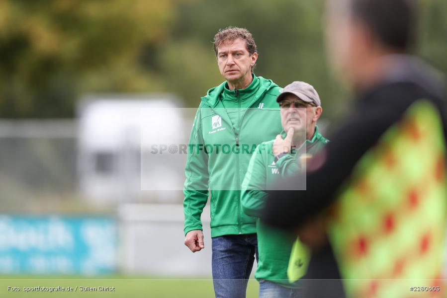 Trainer, Jens Fischer, Sportgelände, Karlstadt, 27.09.2020, sport, action, Fussball, September 2020, SV Altfeld, FV Karlstadt - Bild-ID: 2280603