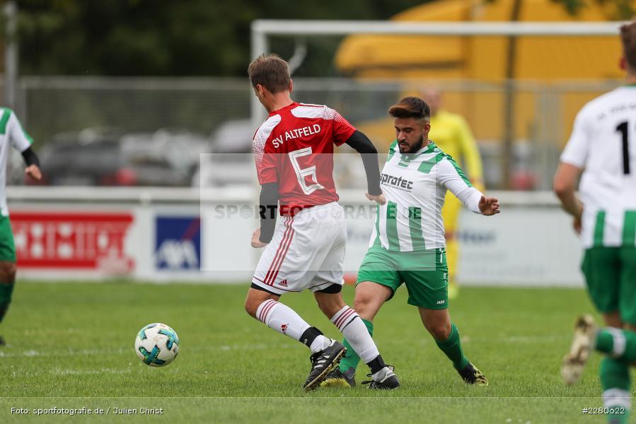 Mehmet Mercan, Sportgelände, Karlstadt, 27.09.2020, sport, action, Fussball, September 2020, SV Altfeld, FV Karlstadt - Bild-ID: 2280622