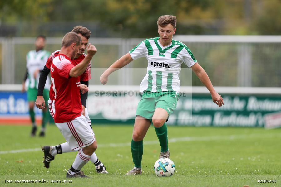 Jakob Fischer, Sportgelände, Karlstadt, 27.09.2020, sport, action, Fussball, September 2020, SV Altfeld, FV Karlstadt - Bild-ID: 2280683