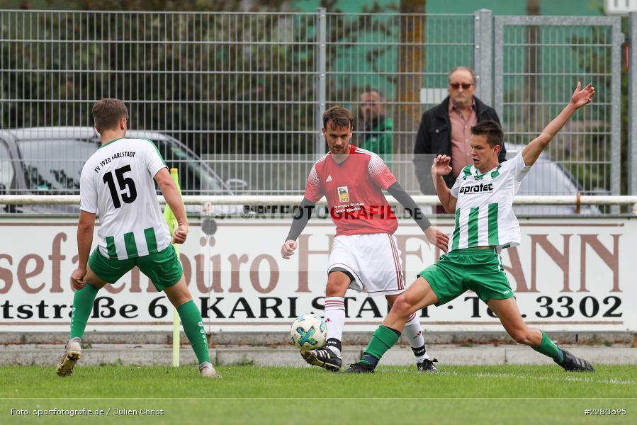 Luca Röder, Sportgelände, Karlstadt, 27.09.2020, sport, action, Fussball, September 2020, SV Altfeld, FV Karlstadt - Bild-ID: 2280695