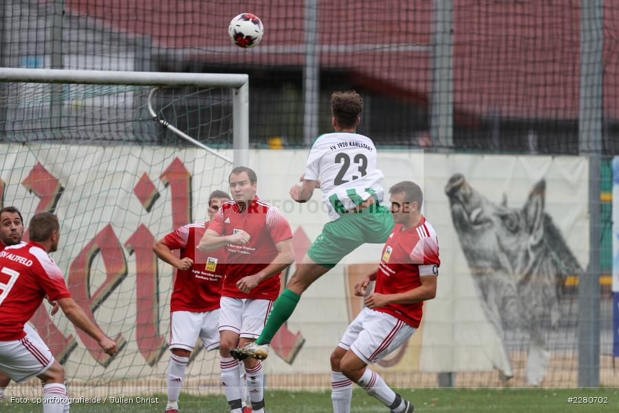 Luka Pernitschka, Sportgelände, Karlstadt, 27.09.2020, sport, action, Fussball, September 2020, SV Altfeld, FV Karlstadt - Bild-ID: 2280702
