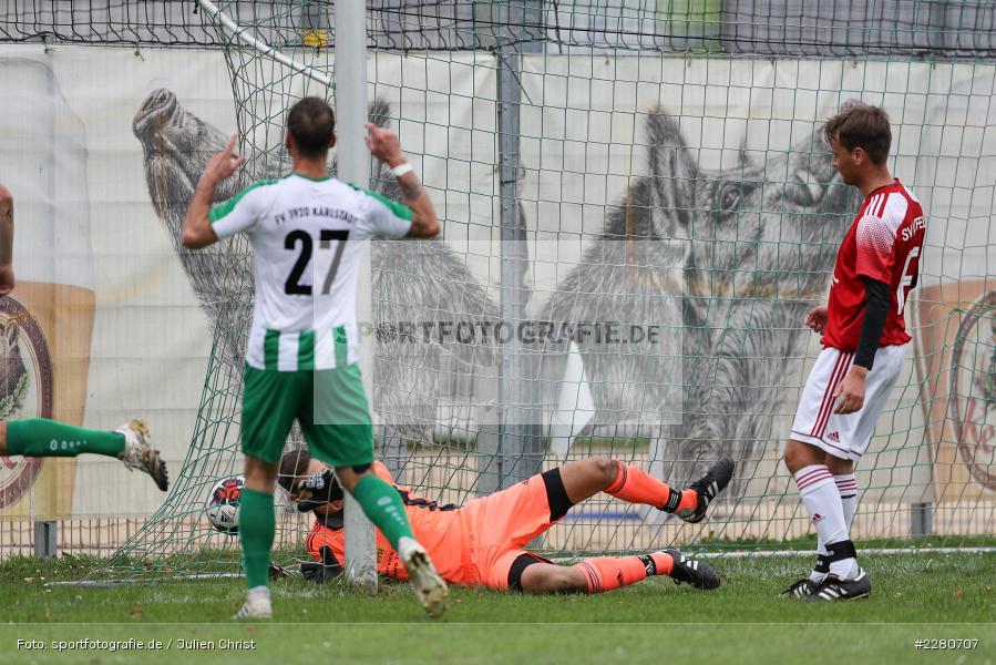 Marco Nitschky, Sportgelände, Karlstadt, 27.09.2020, sport, action, Fussball, September 2020, SV Altfeld, FV Karlstadt - Bild-ID: 2280707