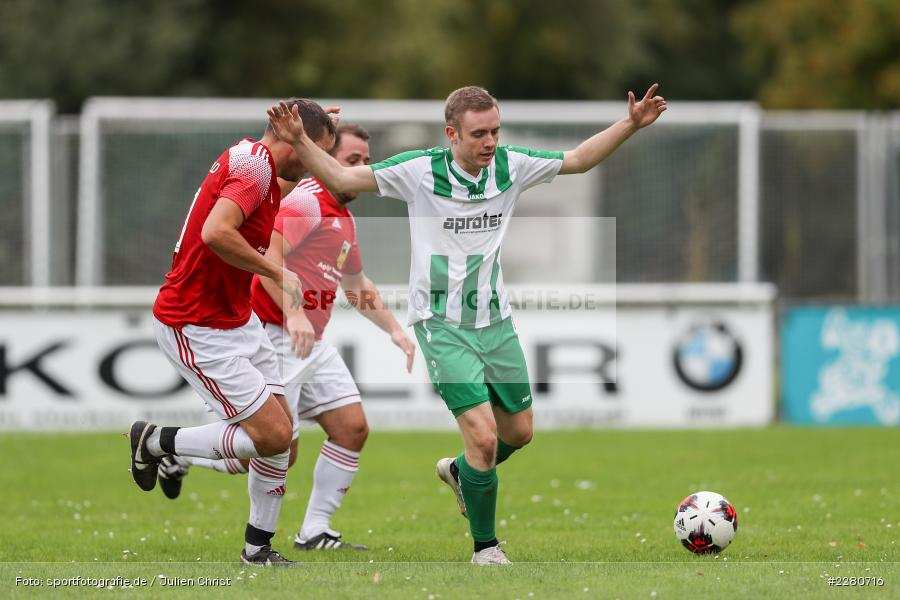 Tim Hofbauer, Sportgelände, Karlstadt, 27.09.2020, sport, action, Fussball, September 2020, SV Altfeld, FV Karlstadt - Bild-ID: 2280716
