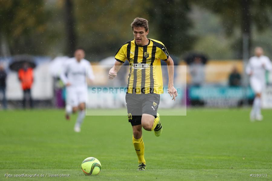 Christian Kufner, Sportgelände, Karlburg, 03.10.2020, sport, action, Fussball, Bayernliga Nord, Oktober 2020, DJK Vilzing, TSV Karlburg - Bild-ID: 2280723