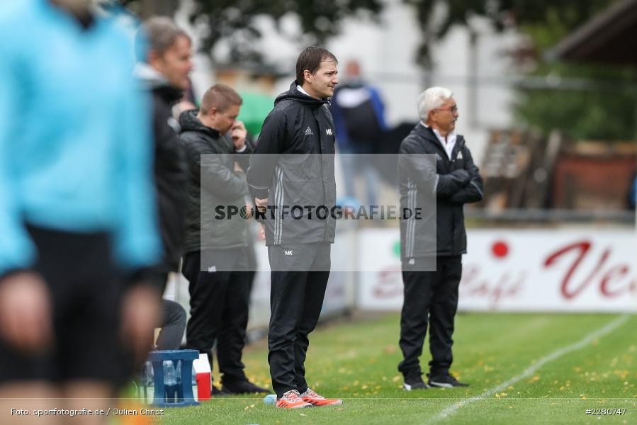 Figur, Markus Köhler, Sportgelände, Karlburg, 03.10.2020, sport, action, Fussball, Bayernliga Nord, Oktober 2020, DJK Vilzing, TSV Karlburg - Bild-ID: 2280747