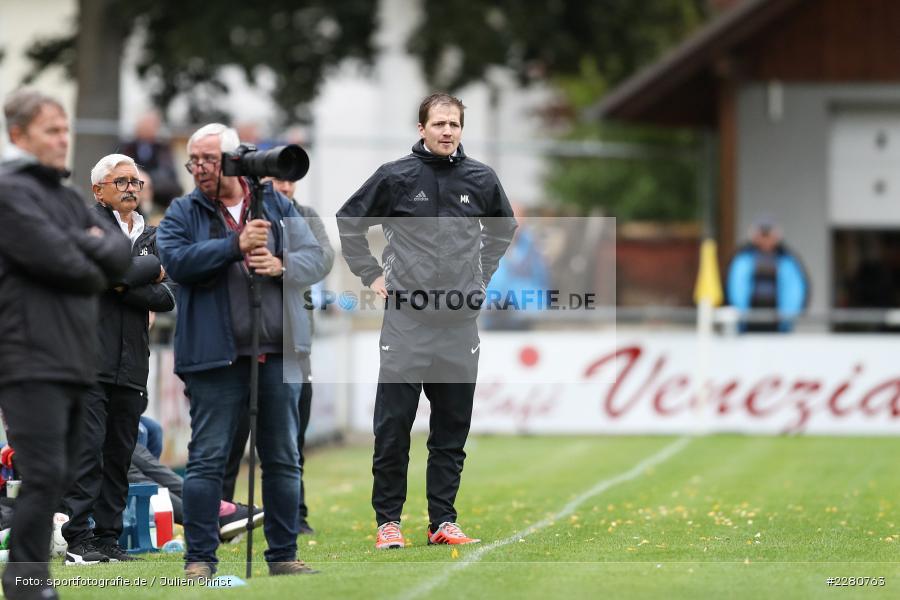Markus Köhler, Sportgelände, Karlburg, 03.10.2020, sport, action, Fussball, Bayernliga Nord, Oktober 2020, DJK Vilzing, TSV Karlburg - Bild-ID: 2280763