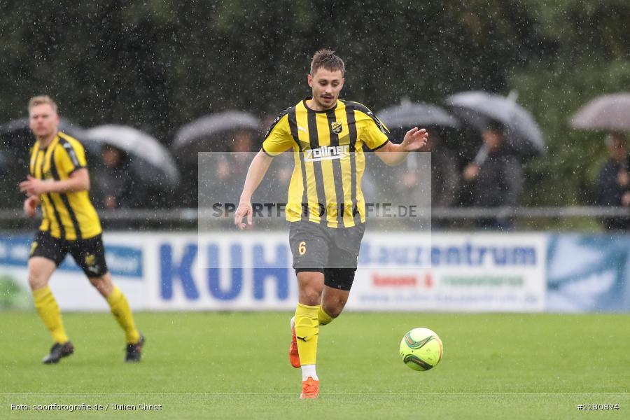Nico Dantscher, Sportgelände, Karlburg, 03.10.2020, sport, action, Fussball, Bayernliga Nord, Oktober 2020, DJK Vilzing, TSV Karlburg - Bild-ID: 2280894
