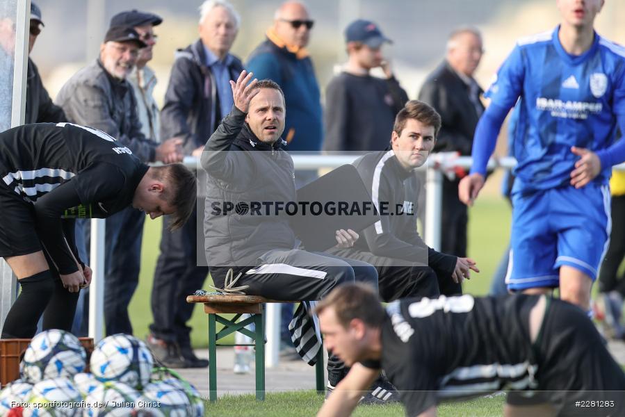 Maximilian Müller, Carsten Lanik, sport, action, TSV Retzbach, TSV Lohr, Sportgelände, Retzbach, Oktober 2020, Fussball, DFB, Bezirksliga Unterfranken, 04.10.2020 - Bild-ID: 2281283