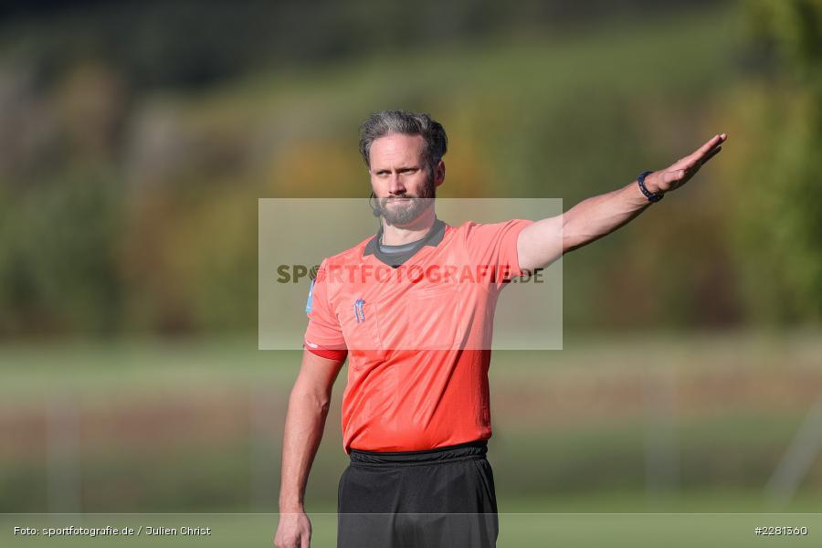Benedikt Bruns, sport, action, TSV Retzbach, TSV Lohr, Sportgelände, Retzbach, Oktober 2020, Fussball, DFB, Bezirksliga Unterfranken, 04.10.2020 - Bild-ID: 2281360