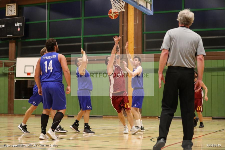 Erwin-Ammann-Halle, Karlstadt, 10.10.2020, sport, action, Saison, Halle, Deutschland, Oktober 2020, Bezirksklasse, Basketball, DJK Schweinfurt 2, TSV Karlstadt - Bild-ID: 2282410