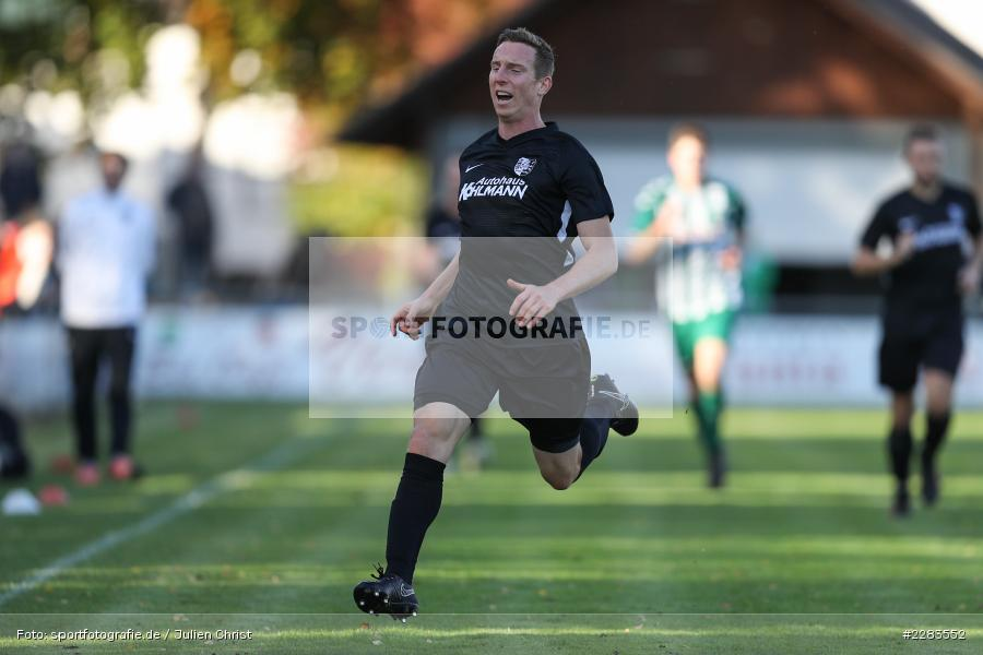 Sebastian Fries, Sportgelände In der Au, Karlburg, 24.10.2020, BFV, sport, action, Fussball, Deutschland, Oktober 2020, Saison 2019/2020, Bayernliga Nord, TSV Grossbardorf, TSV Karlburg - Bild-ID: 2283552