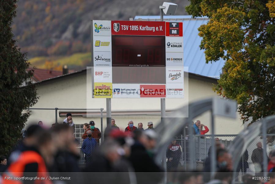 Sportgelände In der Au, Karlburg, 24.10.2020, BFV, sport, action, Fussball, Deutschland, Oktober 2020, Saison 2019/2020, Bayernliga Nord, TSV Grossbardorf, TSV Karlburg - Bild-ID: 2283622