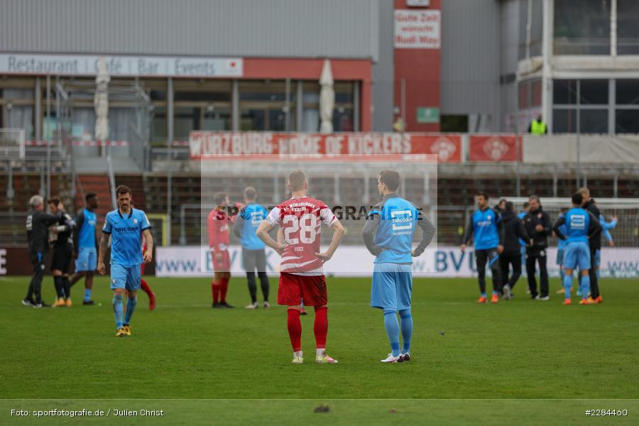 Simon Zoller, Arne Feick, DFL, sport, action, Fussball, Deutschland, November 2020, Saison 2020/2021, Bundesliga, 2. Bundesliga, FC Würzburger Kickers, VfL Bochum - Bild-ID: 2284460