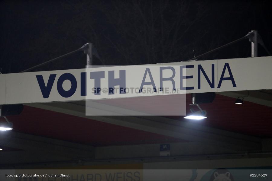 Dach, Stadion, Voith-Arena, Heidenheim, 06.11.2020, DFL, sport, action, Fussball, Deutschland, November 2020, Saison 2020/2021, Bundesliga, 2. Bundesliga, FC Würzburger Kickers, 1. FC Heidenheim - Bild-ID: 2284529