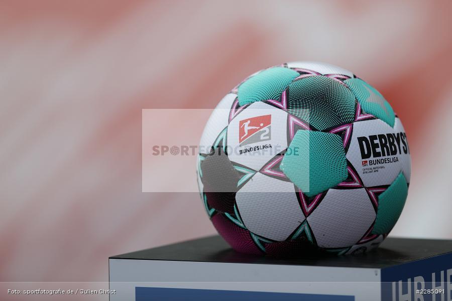 APS, Matchball, Derbystar, Symbolbild, FLYERALARM Arena, Würzburg, 22.11.2020, DFL, sport, action, Fussball, Deutschland, November 2020, Saison 2020/2021, 2. Bundesliga, Hannover 96, FC Würzburger Kickers - Bild-ID: 2285091
