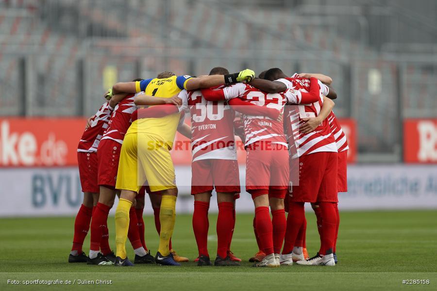 Team, Mannschaftskreis, FLYERALARM Arena, Würzburg, 22.11.2020, DFL, sport, action, Fussball, Deutschland, November 2020, Saison 2020/2021, 2. Bundesliga, Hannover 96, FC Würzburger Kickers - Bild-ID: 2285158